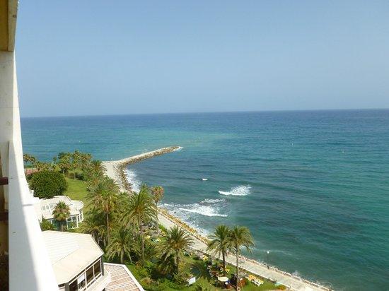 THB Torrequebrada Hotel : View from the balcony.