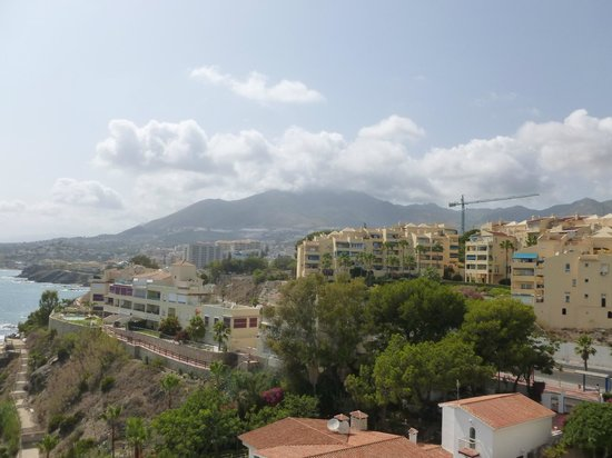 THB Torrequebrada Hotel: View from the balcony.