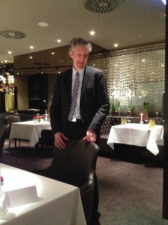 Hotel Warmbaderhof: Herr Marak,der exzellente Restaurant-etc Manager