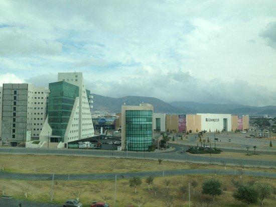 Camino Real Pachuca: Vista a Plaza Galerías