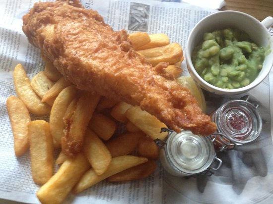 Feathers: Fish and Chips
