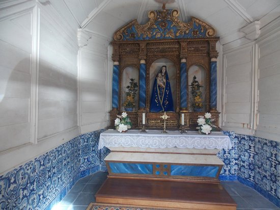 Capela da Nossa Senhora da Rocha: inside the chapel