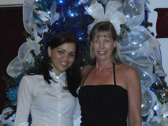 BlueBay Villas Doradas Adults Only : Yeimi, notre ange et mon épouse