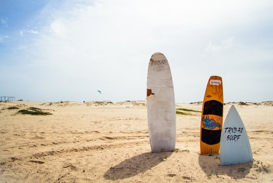 Hotel Dunas de Sal: Kitesurfing and the beach