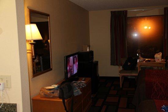 Comfort Inn Malvern : View from door