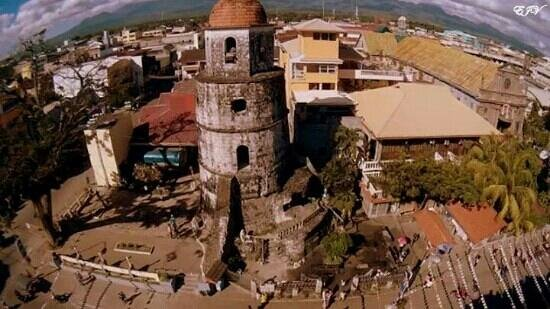 Belfry: Aerial view using Quadcopter
