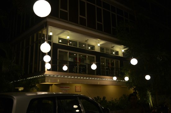 Ocean Palms Goa: Entrance..