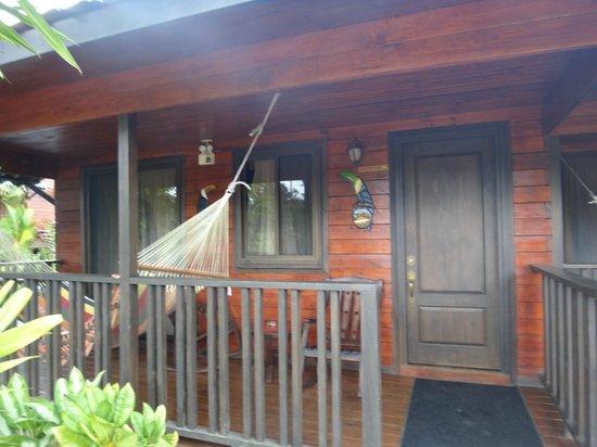 Blue River Resort & Hot Springs: Front of Cabin