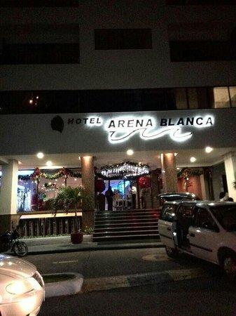 Hotel Arena Blanca: Entrada