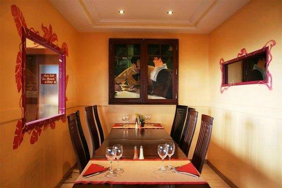 Le Bois Joli: Restaurant