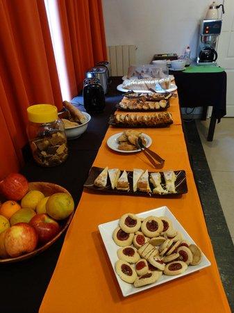Pampa Plaza Hotel: desayuno