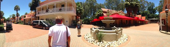 Gold Reef City: Old Mining-Town.