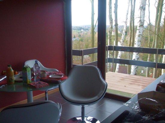 Green Hill Guest House Appartement & Chambre : cucina / sala pranzo