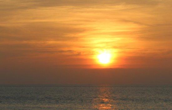 Salt : Glorious sunset