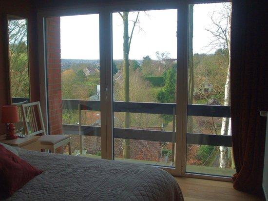 Green Hill Guest House Appartement & Chambre : vista dalla camera