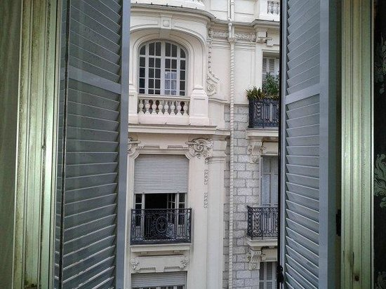 Hotel La Villa Nice Promenade : vista dal terrazzino