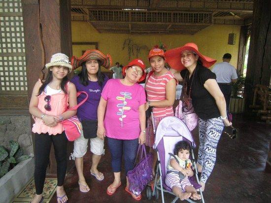Villa Escudero Resort: my family