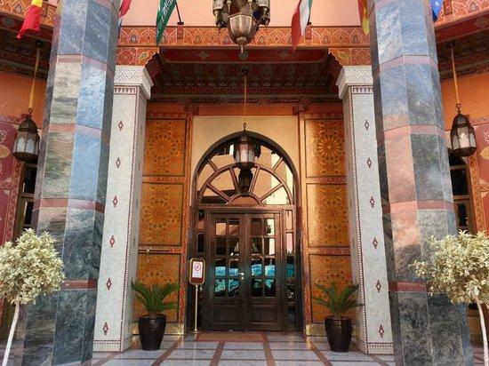 Diwane Hotel: vue entree