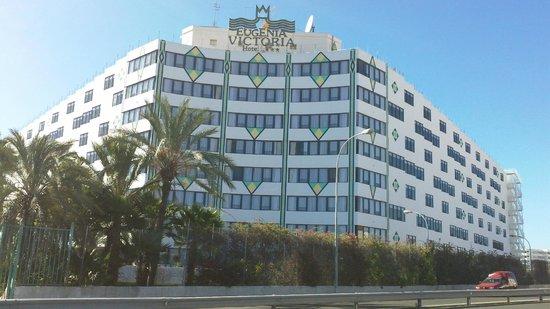 Hotel Eugenia Victoria: Eugenia Victoria hovedindgang