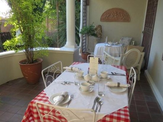 Parker Cottage : Breakfast area
