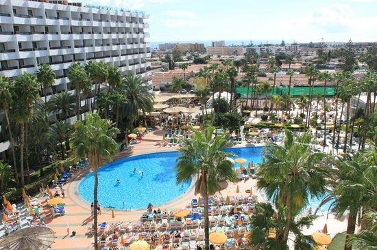 Hotel Eugenia Victoria: Eugenia Victoria udsigt fra værelse 627