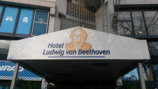 Ludwig Van Beethoven Hotel : Ingresso