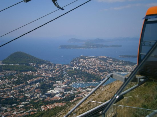 Valamar Argosy Hotel : View from the top of Mount Sud