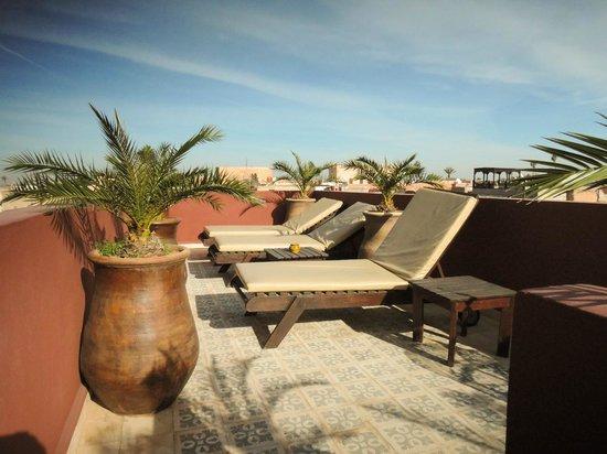 Riad Al Mansoura : Sun deck