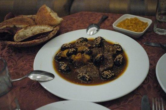 Riad Al Mansoura : Moroccan Beef Tagine