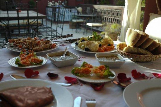 Riad Al Mansoura: Moroccan Lunch