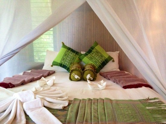 Viking Natures Resort: Our bed