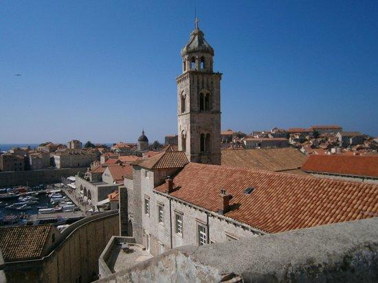 Valamar Argosy Hotel: Dubrovnik walls