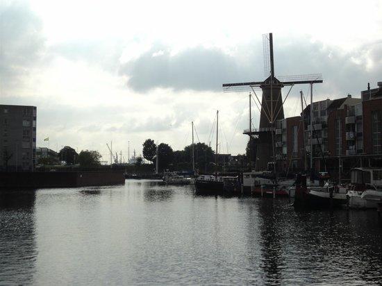 Delfshaven, Rotterdam, bij nacht