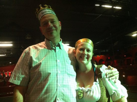 Medieval Times Dinner & Tournament: Me and the Serving Wench!