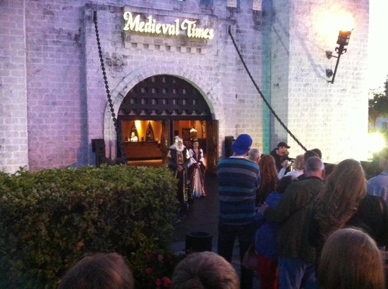 Medieval Times Dinner & Tournament: Entry