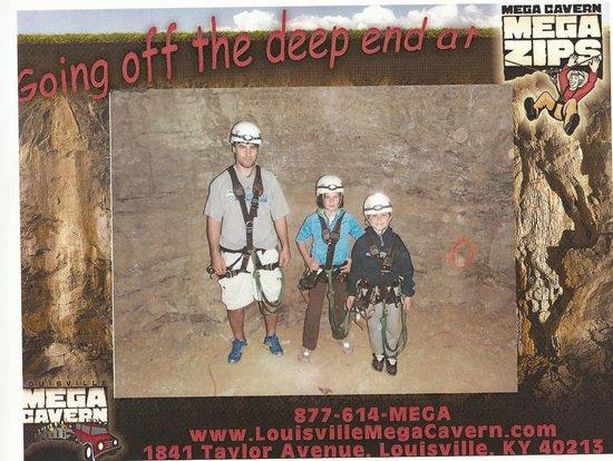 Louisville Mega Cavern: safety equipment