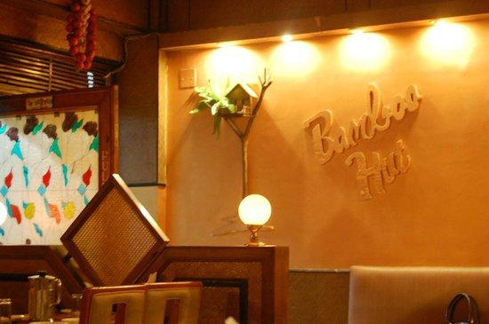 Bamboo Hut: Interior setting (Entry)