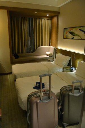 Rosedale Hotel Kowloon: Två enkel säng