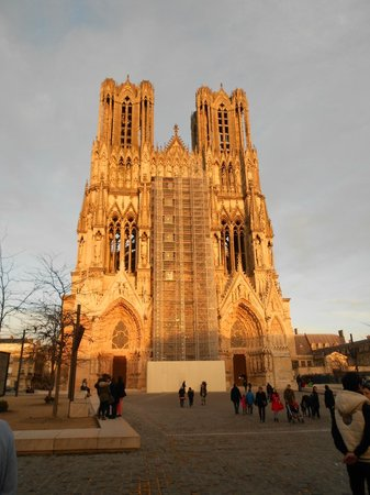 Holiday Inn Reims Centre: cathedrale de reims