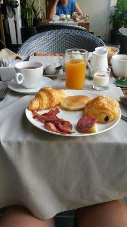 The Plantation: Petit déjeuner