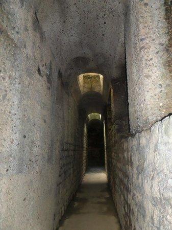 Kaiserthermen: walking through underground