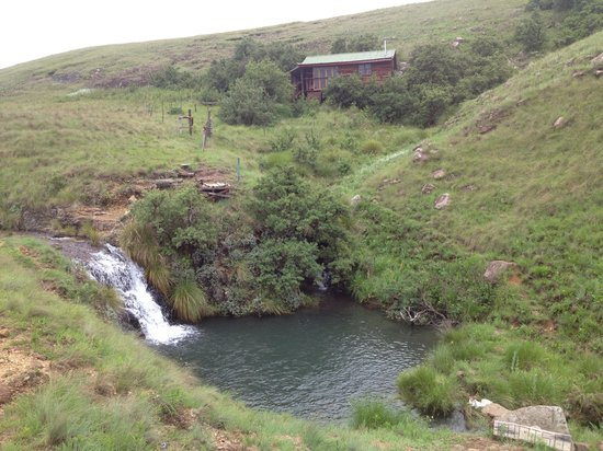 Khotso Adventure Farm: Karoo, our self appointed guide to blue pools