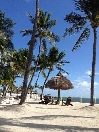 Drop Anchor Resort: Beach area
