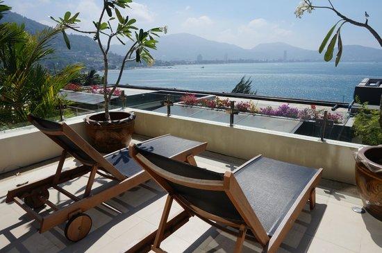IndoChine Resort & Villas : 1階のベランダからの眺め