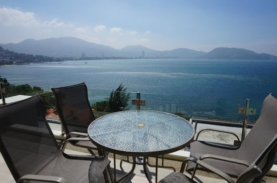 IndoChine Resort & Villas : 3階のベランダからの眺め