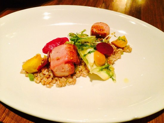 Empire State South: Rabbit roulade - off the tasting menu. Delicious!