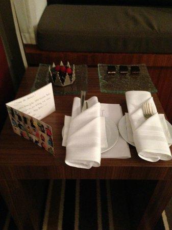 Sofitel Berlin Kurfürstendamm: Gift from the hotel