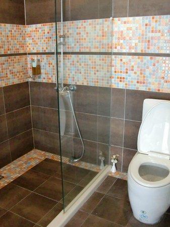Follow Me B&B: 浴室內的淋浴間
