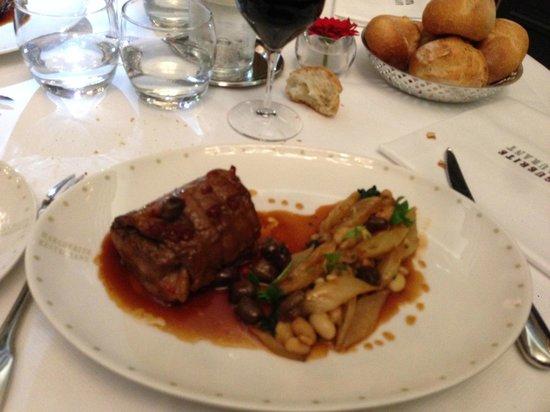 Marguerite Restaurant : Selle d'Agneau