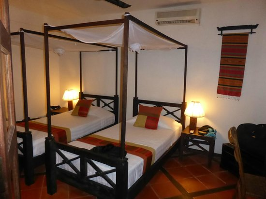 Mysteres d'Angkor Siem Reap Lodge : Chambre